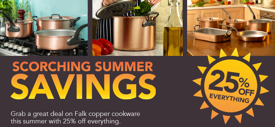 Falk Culinair 2016 Summer Sale