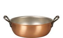 Falk 24cm Copper Stew Pan