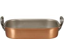 Falk 35 x 23cm Copper Roasting Pan