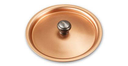 falk culinair classical 10cm copper lid