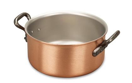 falk culinair classical 18cm copper casserole