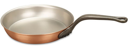 falk culinair classical 24cm copper frying pan