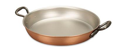 falk culinair classical 28cm copper au gratin pan