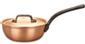 falk culinair classical 16cm copper saucier pan