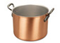 falk culinair classical 24cm copper cauldron