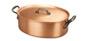 falk culinair classical 30cm oval copper casserole